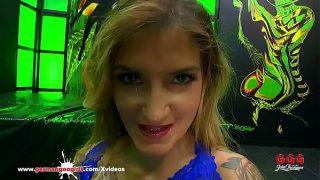 Monster Cock destroying Adreena Winters Ass – German Goo Girls